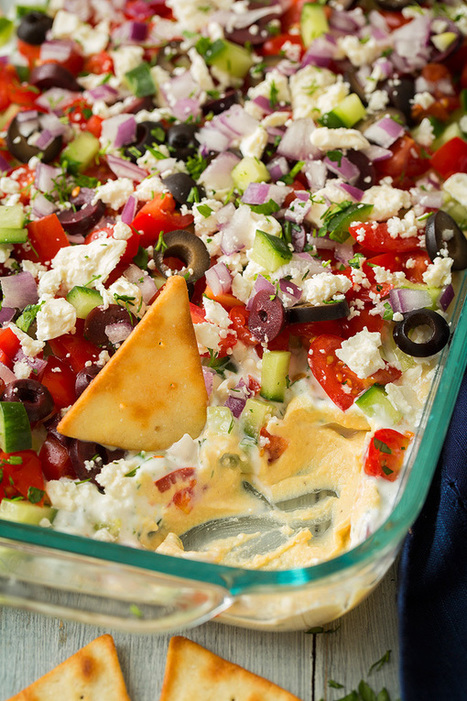 Greek Seven Layer Dip - Cooking Classy | Passion for Cooking | Scoop.it