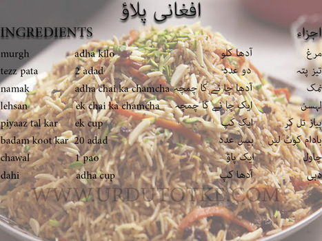 Afghani Pulao Recipe In Urdu Afghani Chicken