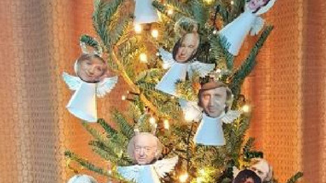Woman turns all the stars we've tragically lost this year into angels on her Christmas tree | Daily News Reads | Scoop.it