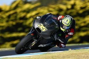 Crutchlow: The front tyre fell to pieces | Ductalk Ducati News | Scoop.it