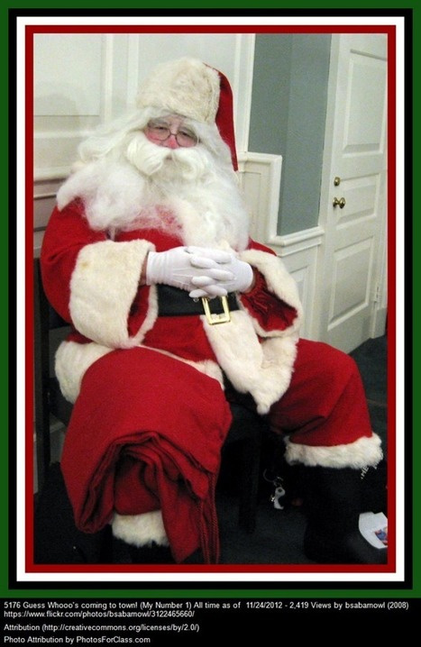 Simple & Fun Lesson For ELLs Of All Ages: Writing & Recording A Letter To Santa Claus | Digital Storytelling Tools, Apps and Ideas | Scoop.it