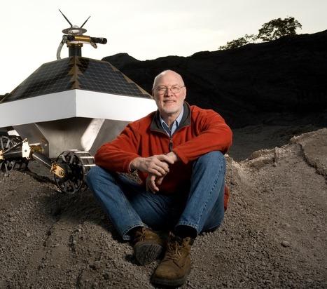 Red Whittaker : « Mes robots iront forer du gaz sur la lune » | WE DEMAIN. Une revue, un site, une communauté pour changer d'époque | Scoop.it
