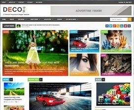 Deco Mag Responsive Blogger Template | Blogger themes | Scoop.it
