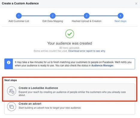 4 Ways to Build Facebook Lookalike Audiences to Expand Your Targeting : Social Media Examiner | Internet Marketing | Scoop.it