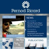 Pernod Ricard lance son application mobile « Connected ... | Mobile & Magasins | Scoop.it