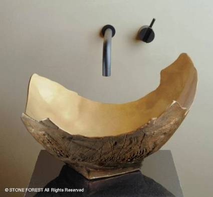 Bathroom Sink Designs That Aren't All Washed Up | Art! | Scoop.it