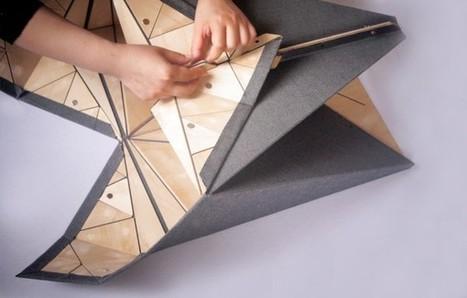 Wood-Skin: Origami Furniture - IPPINKA   298x467