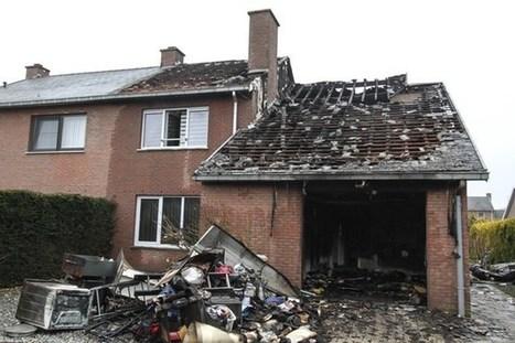 Huis volledig verwoest door brand   Mezeik,   Scoop.it