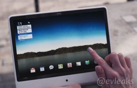 HTC's Next Tablet Won't Copy The iPad: It Looks Like An iMac Instead | Nov@ | Scoop.it