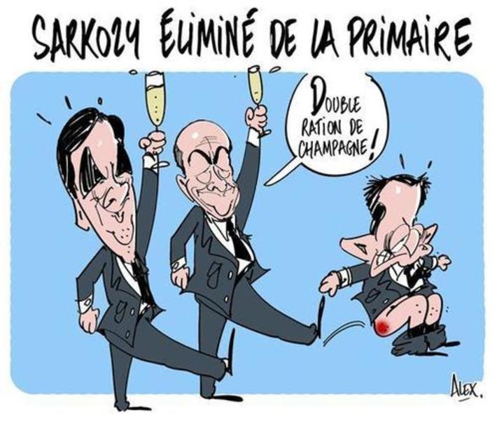 Sarkozy éliminé de la primaire | Baie d'humour | Scoop.it