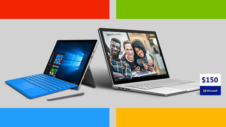 Microsoft is again offering a free $150 gift code with certain Surface Book and Pro 4 models | Windows 8 - CompuSpace | Scoop.it