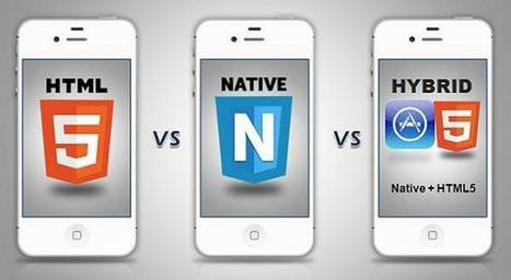 HTML5 Vs Native Vs Hybrid Apps - Which is Better for Mobile App ... | Web mobile applications | Scoop.it