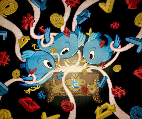 Nine Things You Didn't Know About Twitter | Visual*~*Revolution | Scoop.it