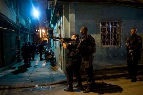 Rio police occupy slums near airport, seaport | KochAPGeography | Scoop.it