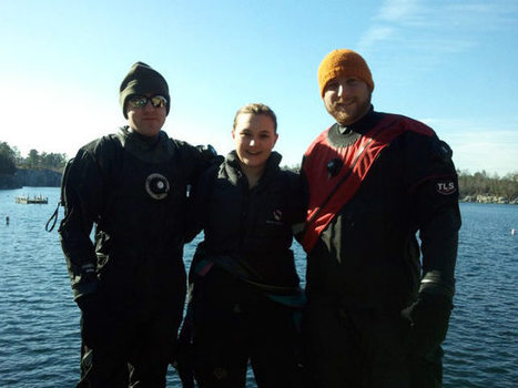 """Cold Water Diving: It's all relative…how cold is """"cold""""?!?   #Scuba   Coldwater Scuba Diving   Scoop.it"""
