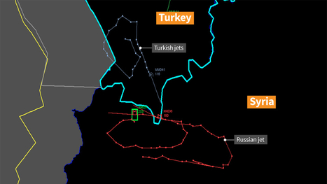 Putin: Turkey's downing of jet a 'stab in the back' | Geography Education | Scoop.it