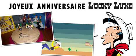 Vos fan-arts pour l'anniversaire de Lucky Luke ! | Books, Photo, Video and Film | Scoop.it