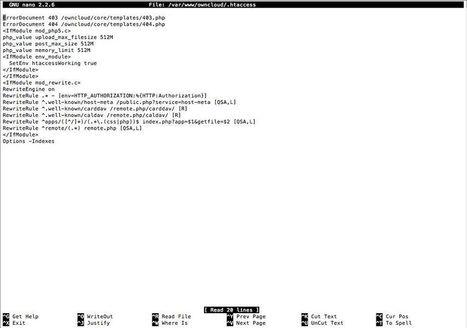 Raspberry Pi Owncloud: faire un clone de dropbox avec un rapsberry ou un linux tout bête | le manchot rôti | Scoop.it
