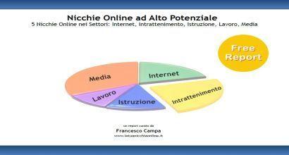 Report: 5 Nicchie Online nei Settori Internet, Intrattenimento, Istruzione, Lavoro e Media   Nicchie Emergenti   Scoop.it