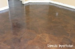 Paper Bag Floors – A Tutorial — Domestic Imperfection   Annie Haven   Haven Brand   Scoop.it