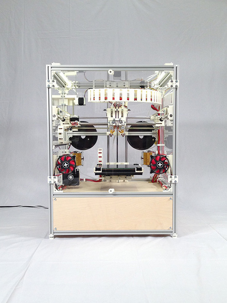 A New Industrial RepRap Emerges   Digital Design and Manufacturing   Scoop.it