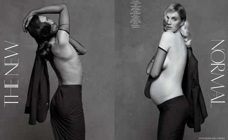 Karl Lagerfeld et Carine Roitfeld redéfinissent la normalité | 16s3d: Bestioles, opinions & pétitions | Scoop.it