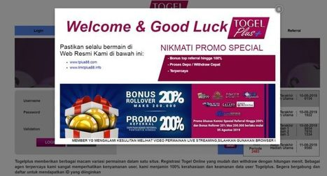 Togelplus is the best lottery agent in Indonesi...