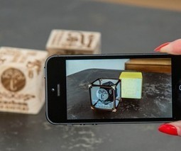 Elements 4D Augmented Reality Cubes: Virtual Building Blocks - Technabob | Augmented Reality in Education and Training | Scoop.it