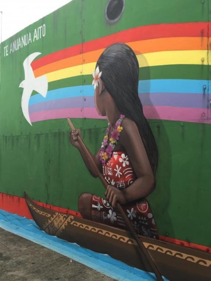 2017 : Ono'u et le street art déjà au rendez-vous | Polynésie 1ère | Kiosque du monde : Océanie | Scoop.it