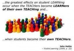 Superintendent's Office - DPS109 | John Hattie's 8 Mindframes for Teachers | Learning and Teaching Musings | Scoop.it