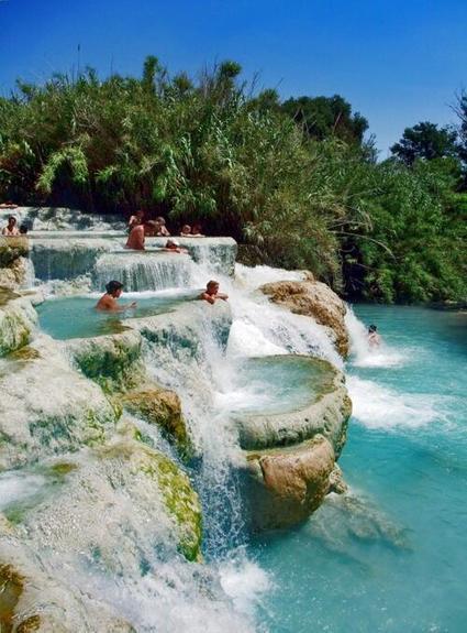 Twitter / travel: Tuscany ~ The Terme di Saturnia ... | Locanda la Pieve | Scoop.it