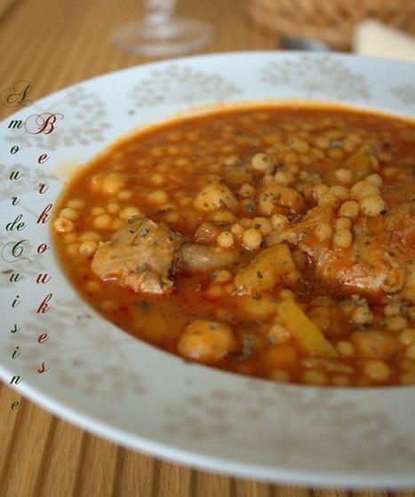 mhamsa, petits plomds au poulet, Ayche | Cuisine Algerienne, cuisine du monde | Scoop.it