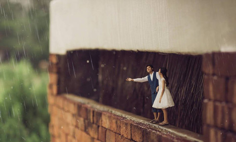 Incredibly Clever Wedding Photography Turns Couples Into Miniature People | Inspired By Design | Scoop.it
