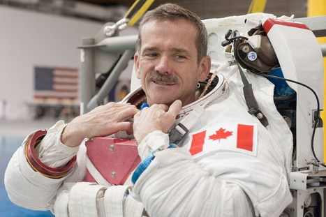 Chris Hadfield: ISS commander on colonising the Moon (Wired UK)   Space matters   Scoop.it