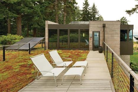 Integrated Team Guides Bainbridge Island Home to LEED-Platinum   sustainable architecture   Scoop.it