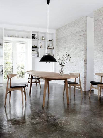 CH33 d'Hans Wegner, une chaise contemporaine | | décoration & déco | Scoop.it