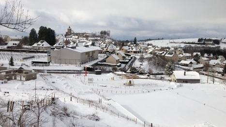 Neige : des routes désertes et des paysages de carte postale en ... - France 3 | Aveyron | Scoop.it