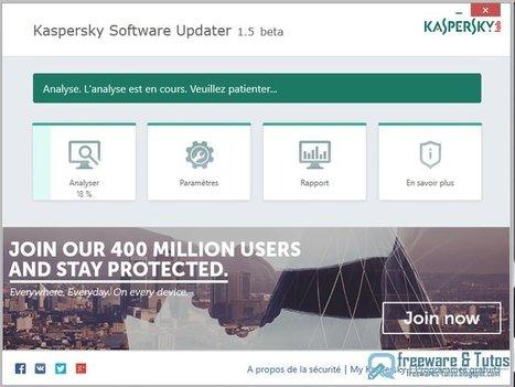 Kaspersky Software Updater : un logiciel pour mettre à jour les programmes de votre PC   Time to Learn   Scoop.it