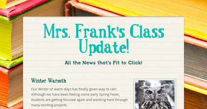 Mrs. Frank's Class Update! | Frankly EdTech | Scoop.it