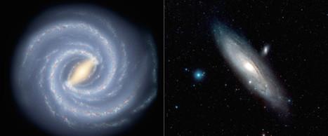 Το 95 ακολουθούμενο από 40 μηδενικά: η μάζα του γαλαξία μας | SCIENCE NEWS | Scoop.it