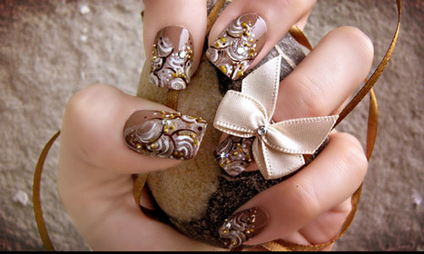 35 Fabulous Collection of Nail Art Examples   Xposed   Scoop.it