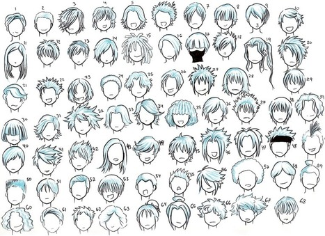 Boy Hairstyles In Drawing References And Resources