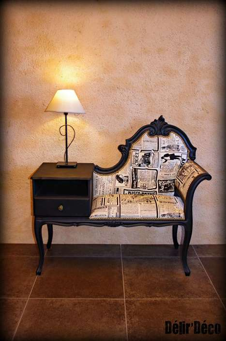Old School Phone banquette • Recyclart | Upcycled Objects | Scoop.it