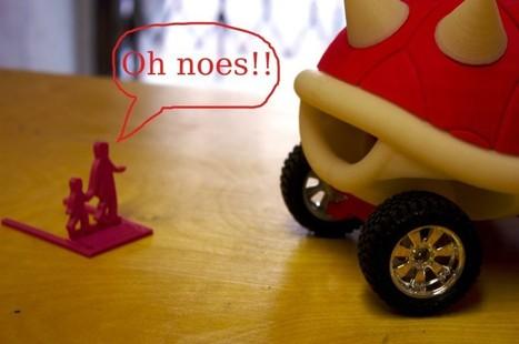 MakerBot Raceway vs Death Race 2000— Raceway Targets by ... | Kids who design, tinker, prototype and create | Scoop.it