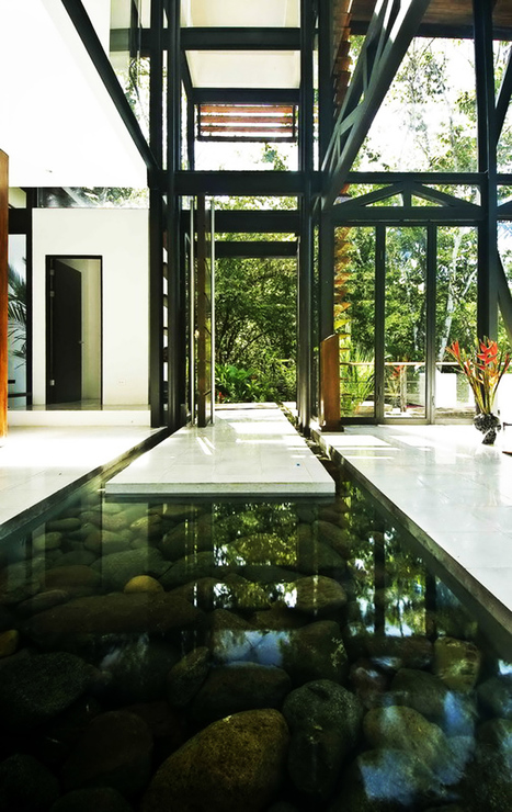 Amazing Modern House with Large Windows and Glass Walls, Costa Rica | DesignRulz | What Surrounds You | Scoop.it