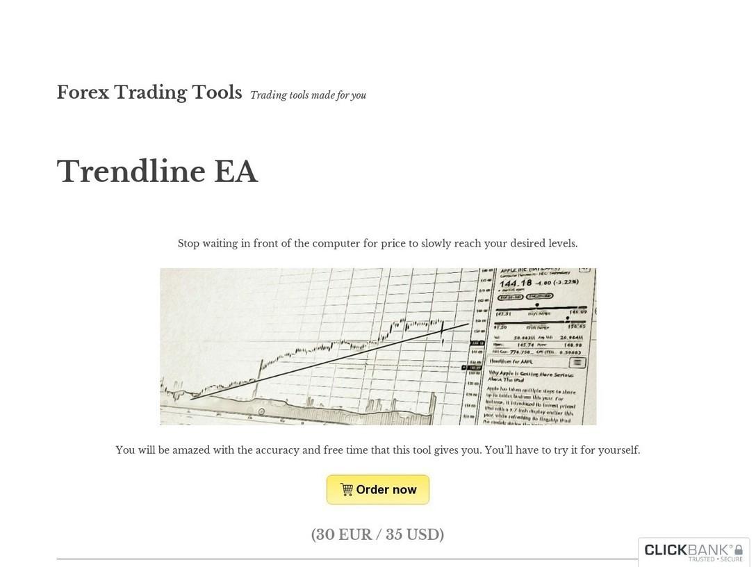 Trendline EA - Trade Using Trendlines On Mt4 | ...