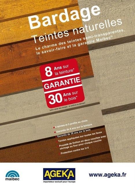 Bardage teintes naturelles   Ageka les matériaux pour la construction bois.   Scoop.it