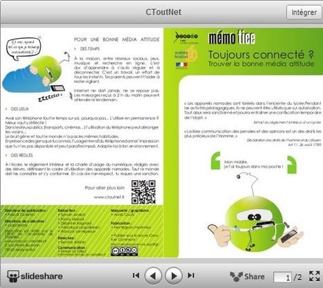 Toujours connecté ? - Citoyen de l'internet | Social Media and its influence | Scoop.it