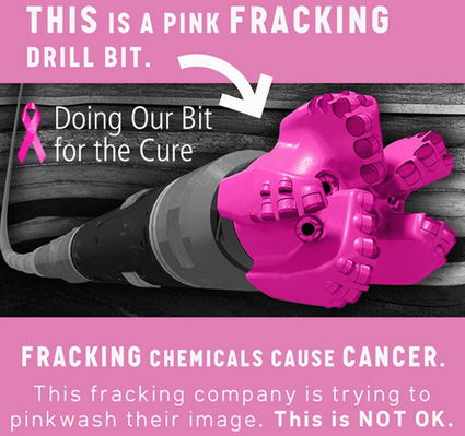 Tell Susan G. Komen Don't #Frack With Our #Health » EcoWatch   EARTHCOVE - a place for peaceful interplanetary & interspecies relations   Scoop.it