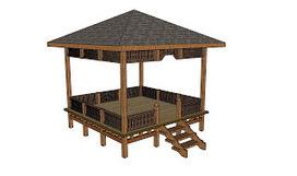 Free Gazebo Plans - How to Build a GAzebo: Patio pergola plans | Diy Furniture Plans | Scoop.it